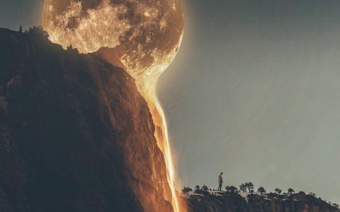 印尼 · 万隆 一道视觉甜点:熔岩月球