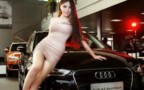 韩国车模宋珠雅